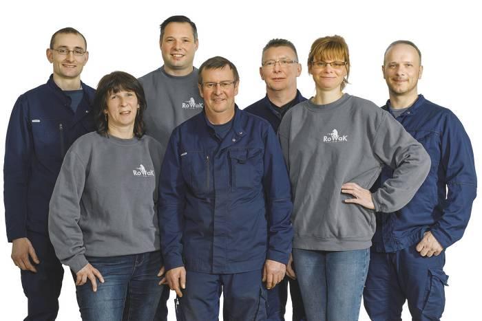 Team Rowak in Rositz