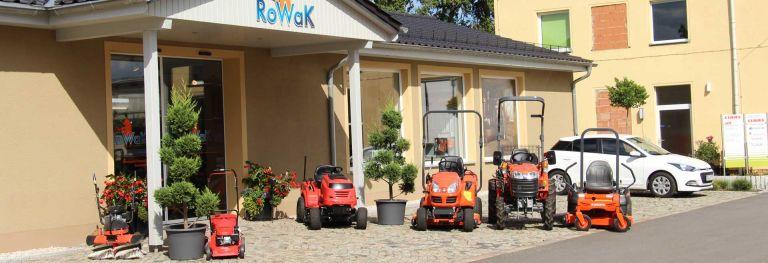 Rowak - Gartentechnik in Rositz bei Altenburg